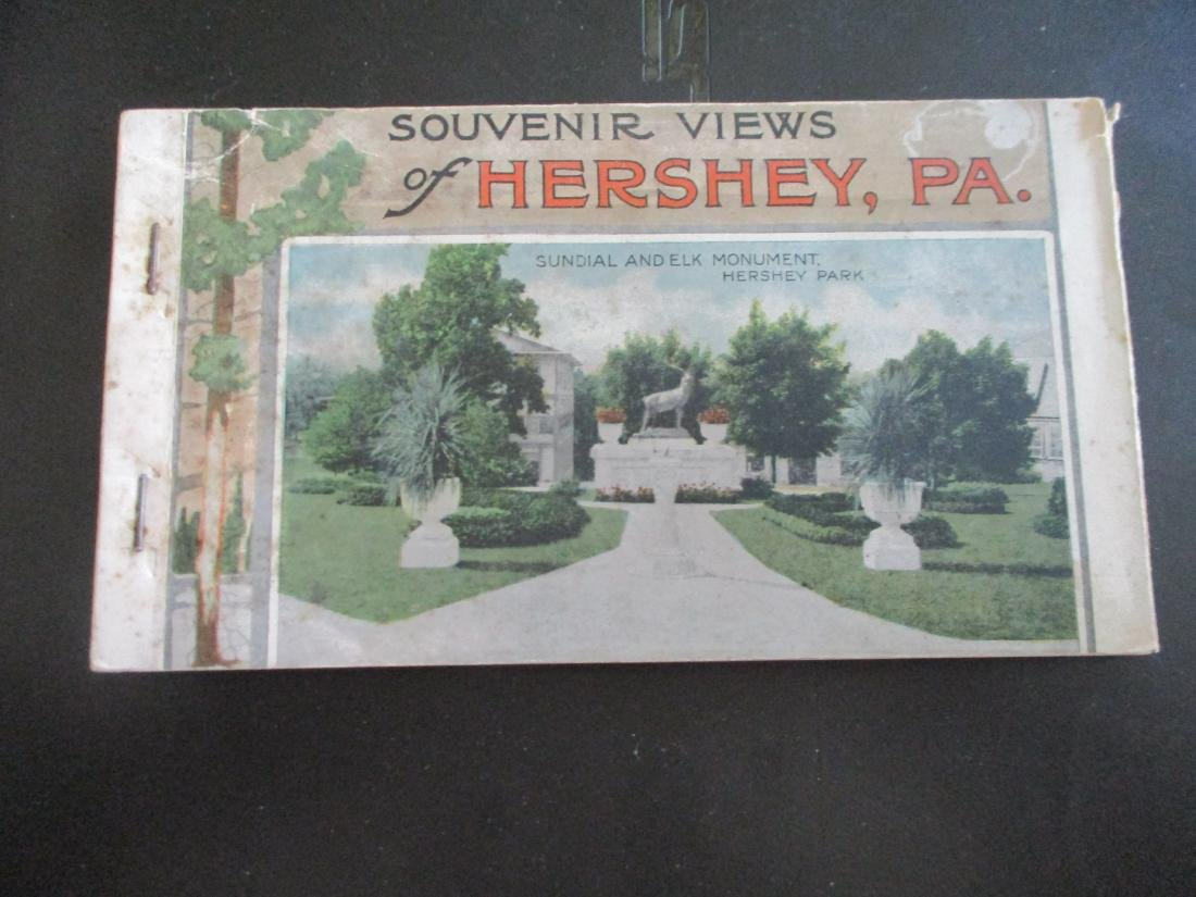 19 Hersey Pa Chocolate Town Postcards Circa 1910