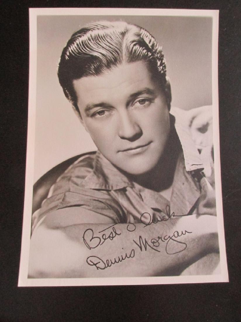 Dennis Morgan Warner Brothers Photograph