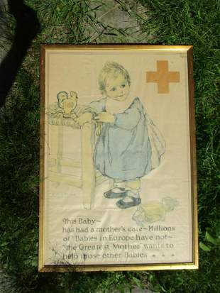 This Baby Anna Milo Upjohn Poster WW1