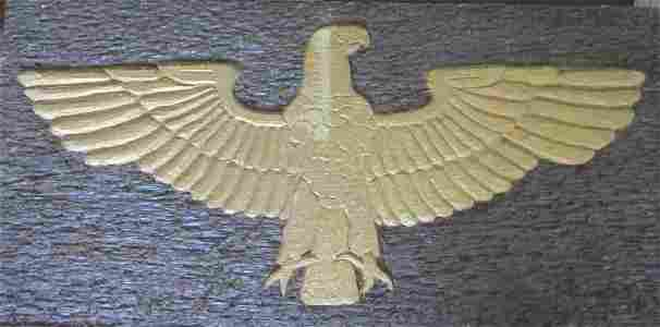 Gilded Carved Eagle - Circa 1930's
