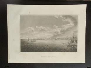 Early Panoramic View of Philadelphia