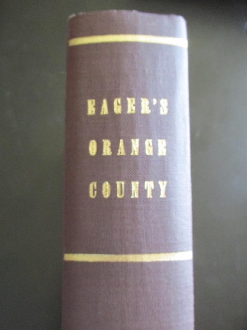 History of Orange County New York
