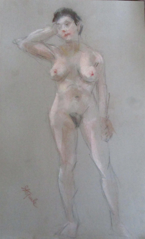 Nude Standing  - Charles Stepule 1911 - 2006