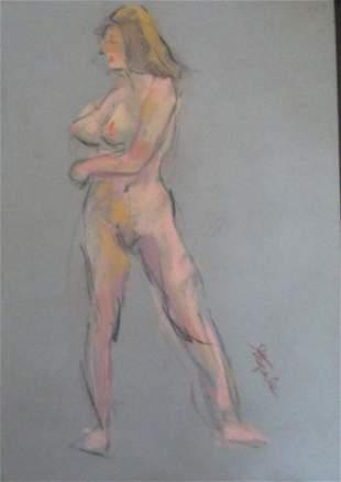 Nude Blonde -   Charles Stepule  1911 - 2006