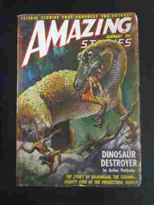 Amazing Stories - January 1949