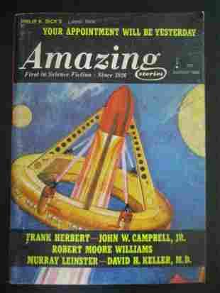 Amazing Stories - August 1966
