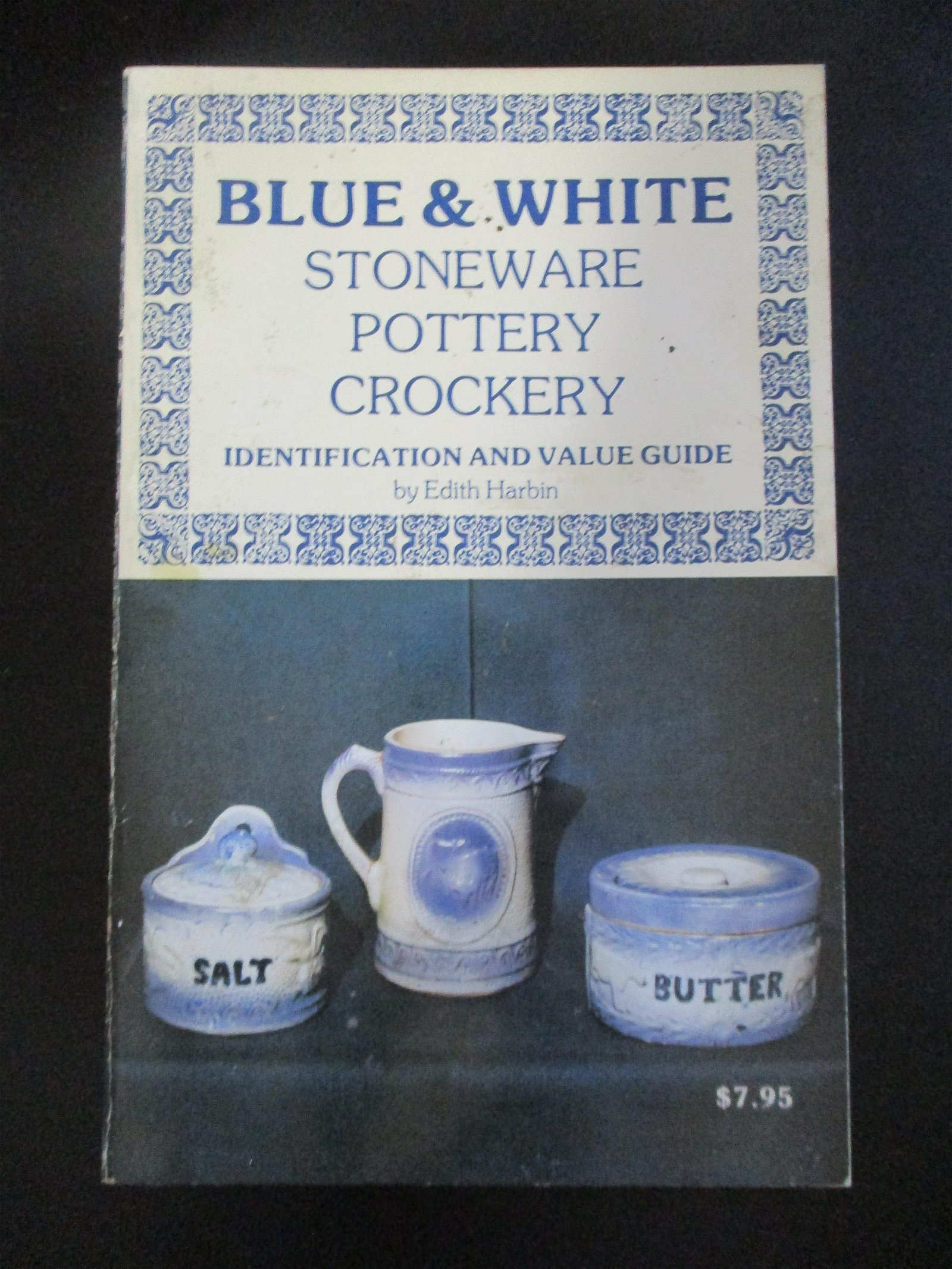 Railroad Blue & White Pottery -  Bottle 4 Book Lot