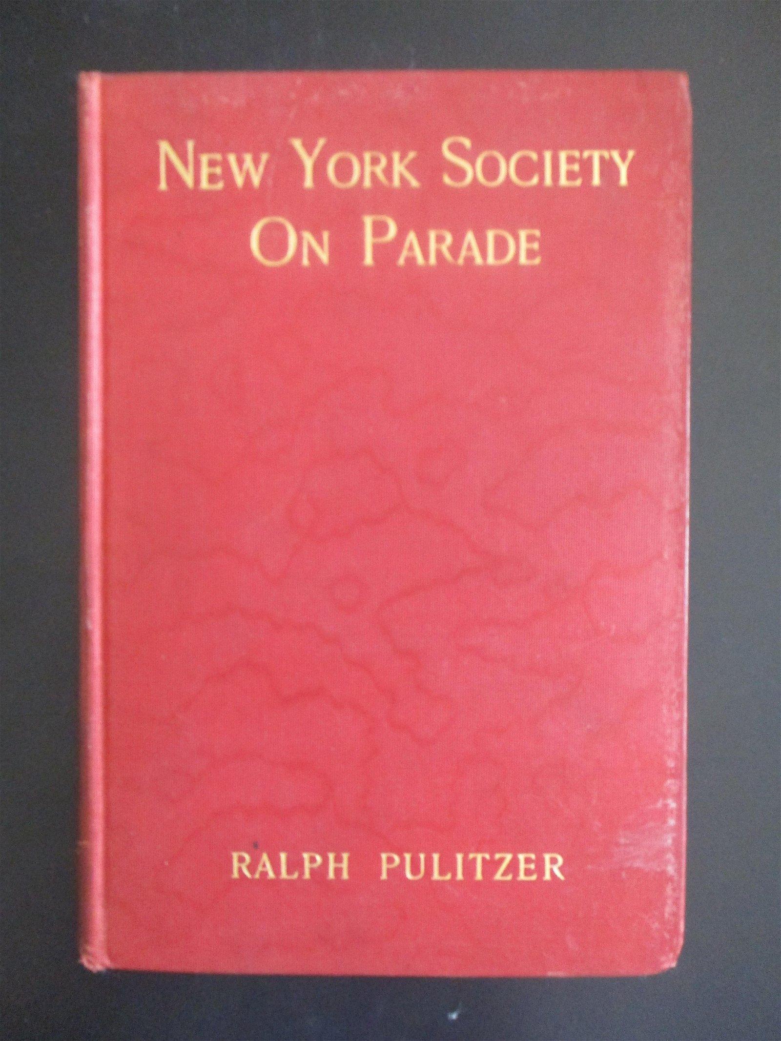 New York Society On Parade