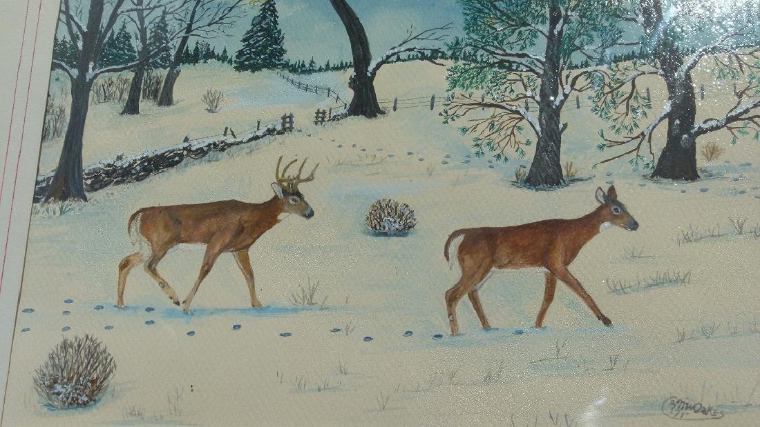 Maurice W. Oakes -  Prison Art