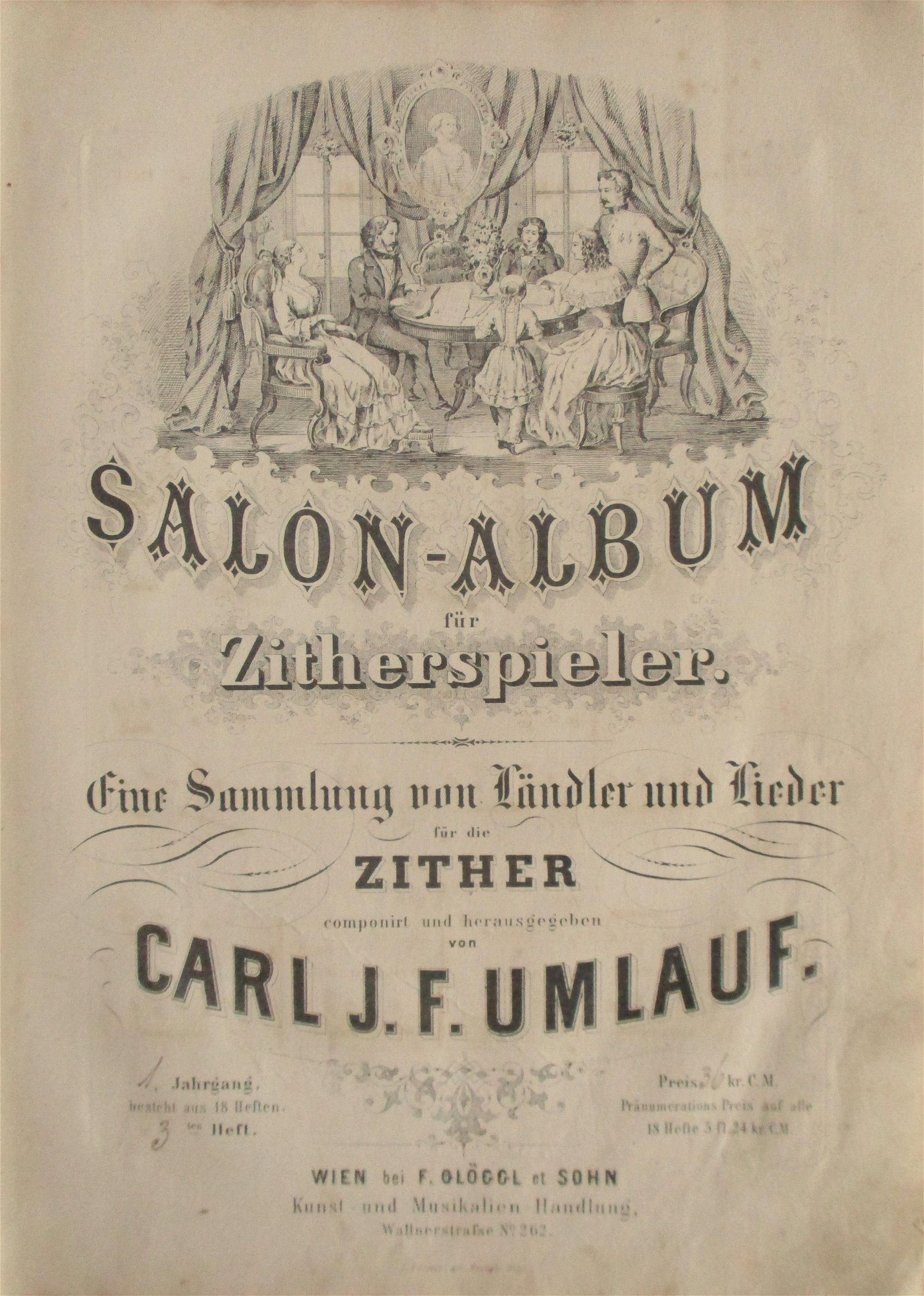 Rare Music for the Zither