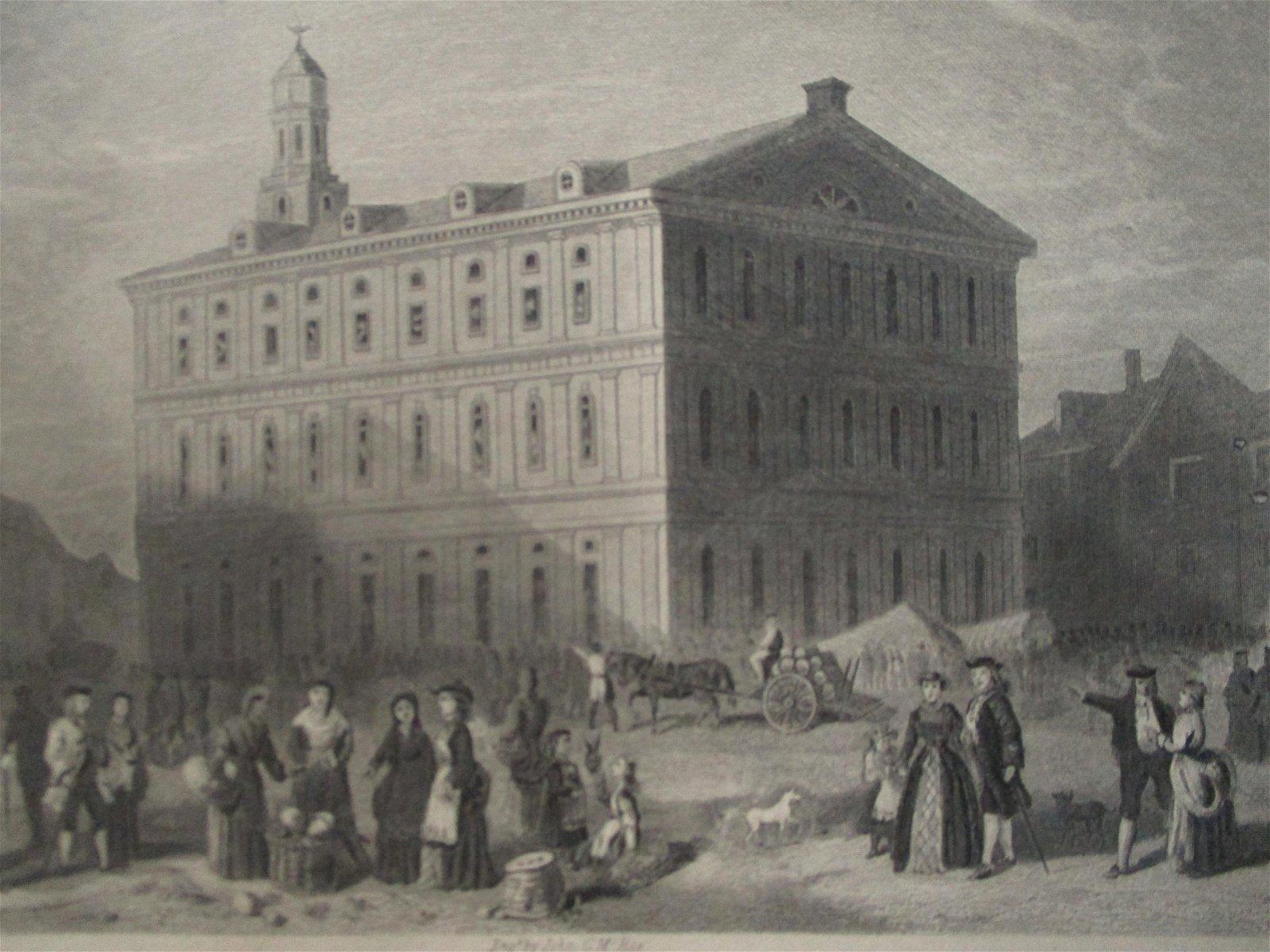 Faneuil Hall - Boston Massachusetts 1776