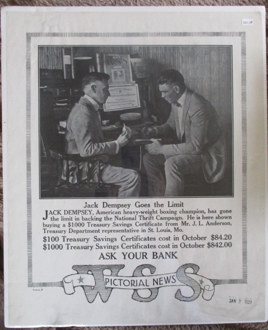 Jack Dempsey Goes the Limit  - Poster 1920