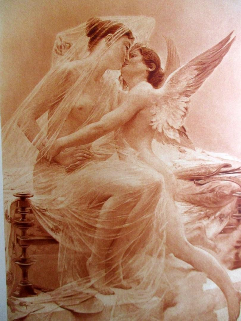 Love and Psyche - Lionel Royer