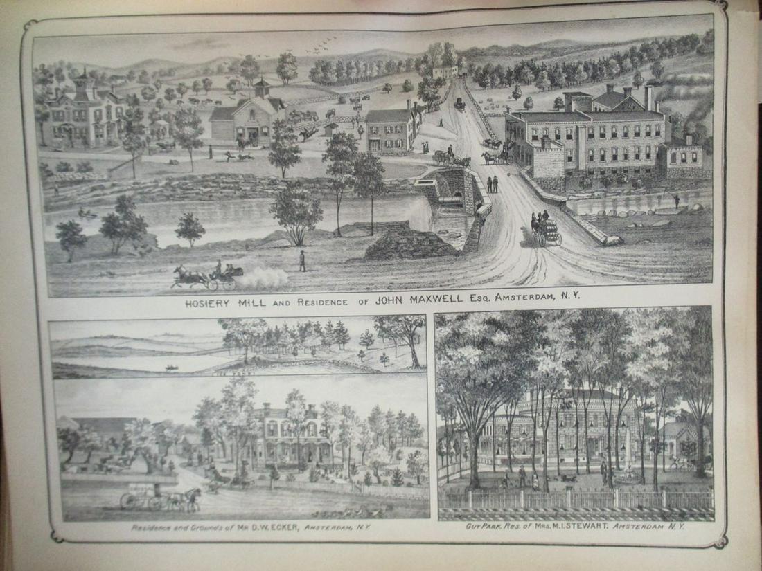 Hosiery Mill & Residence of John Maxwell