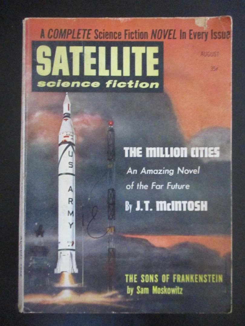Satellite Science Fiction August 1958