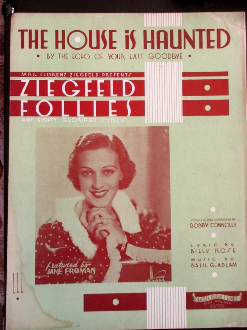 The House is Haunted - Ziegfeld Follies 1934