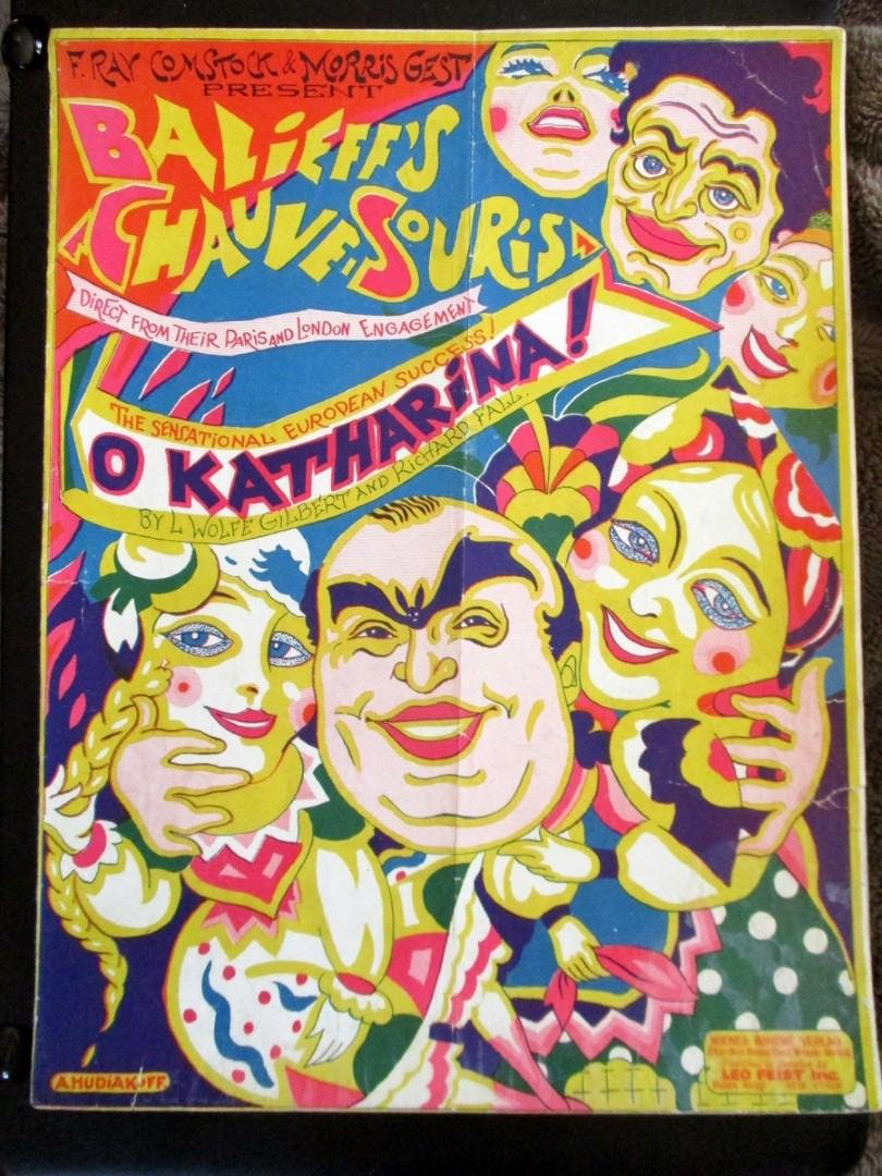 O  Katharina - 1924 Balieff's Chauve Souris.