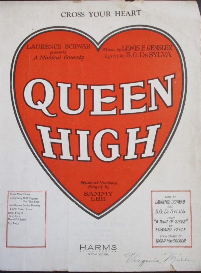 Cross Your Heart from Queen High