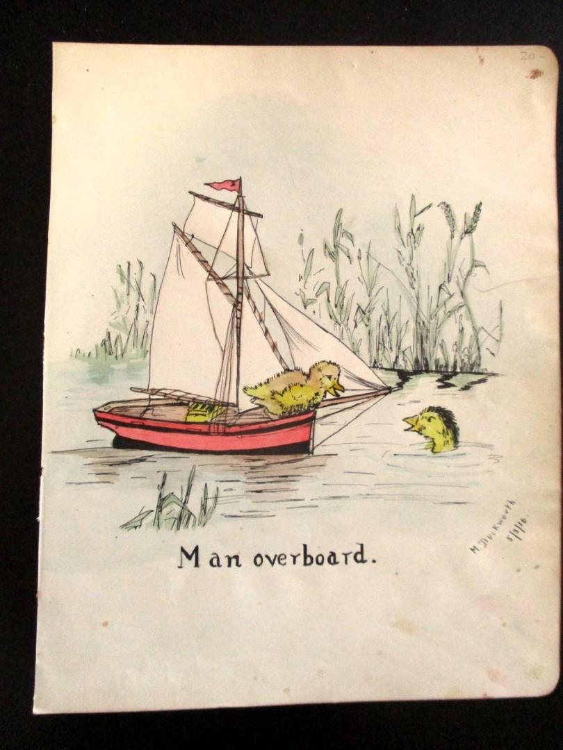 Man Overboard - 1916