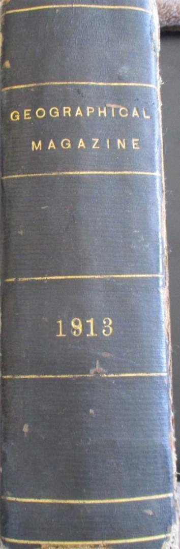 National Geographic 1913 Full Year Bound Rare