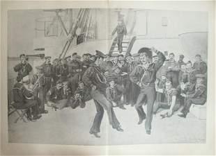 Rufus Fairchild Zogbaum  US Navy A Sailors Jig