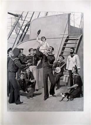 Rufus Fairchild Zogbaum - US Navy Captains Kid