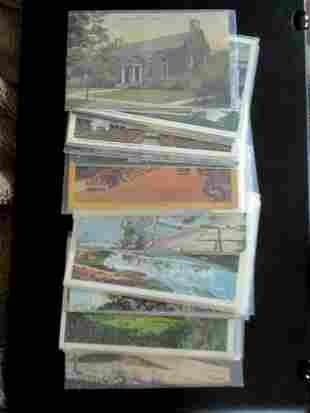 Lot of Vermont Postcards