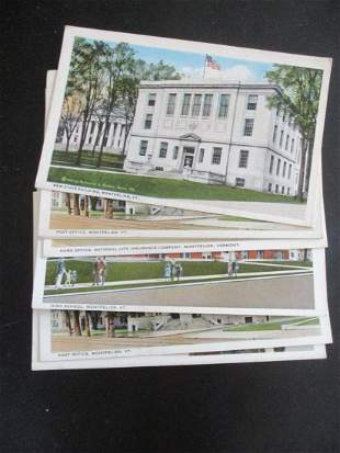Lot of Montpelier Vermont Post Cards