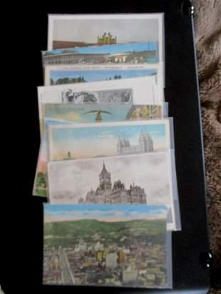 Lot of Utah Postcards