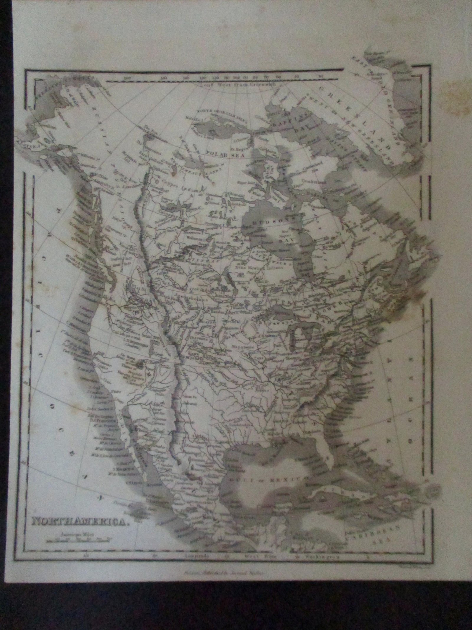 Early Map of North America