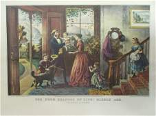 Four Seasons of Life -Middle Age - Currier Ives