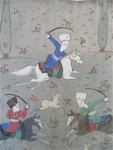 Persian Manuscript - The Hunt
