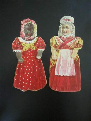 Early Atlantic & Pacific Paper Dolls  (2)