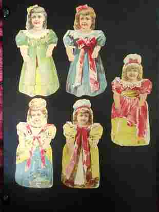 Early Atlantic & Pacific Paper Dolls  (6)