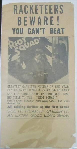 Racketeers Beware - The Riot Squad