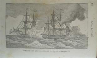Constitution and Guerriere in Engagement