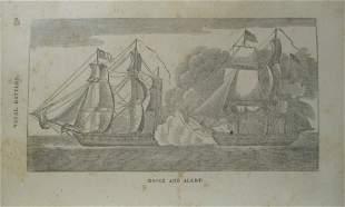 Essex and Alert - Naval Battle