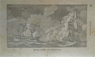 United States & Macedonian - Naval Battle