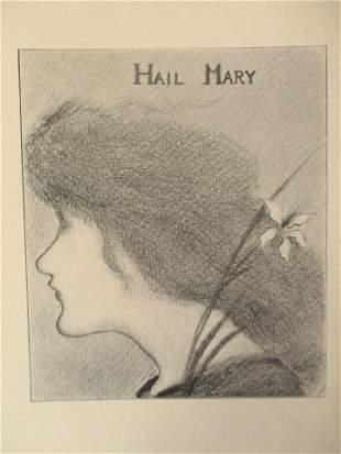 Hail Mary - Aubrey Beardsley 1872 - 1898