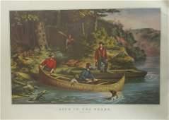 American Hunting Scenes - Currier Ives