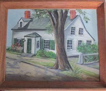 Rockport Mass - Lyn Lopes (American 20th Century)