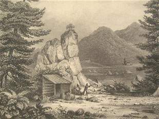 California Gold Rush - Early Engraving