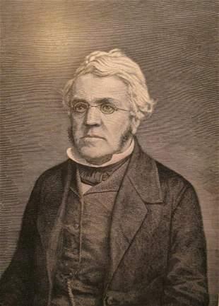 Portrait of William Makepeace Thackeray