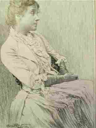 Portrait of Eleanora Duse