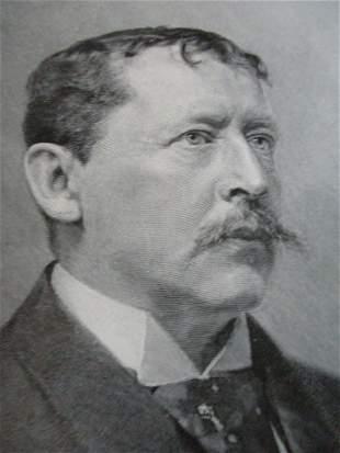 Portrait of Thomas Bailey Aldrich