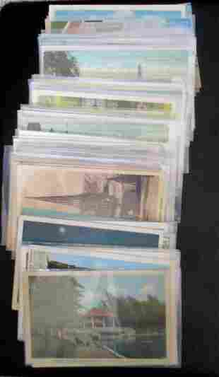 Approx 75 Vintage Canadian Postcards
