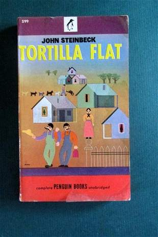 Early John Steinbeck Soft Covers (4)