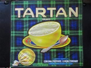 Tartan Grapefruit - California Advertising