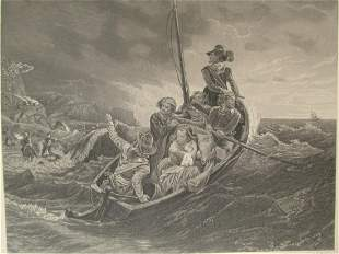 English Puritans Escaping To America