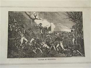 Early Engraving of Battle of Princeton